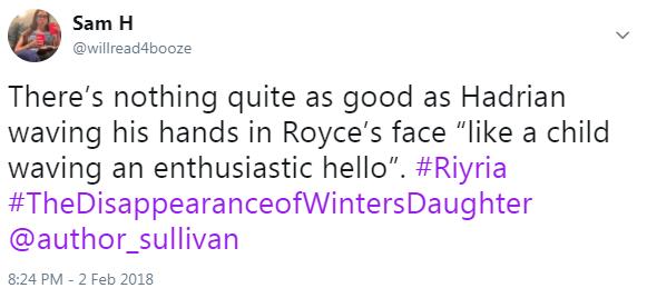 riyria tweet