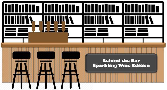 brown banner - sparking wine